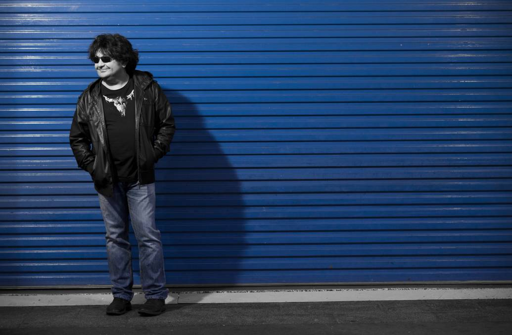 HIPSTER: Australian rock legend Richard Clapton has taken a journey back to the swinging '60s.