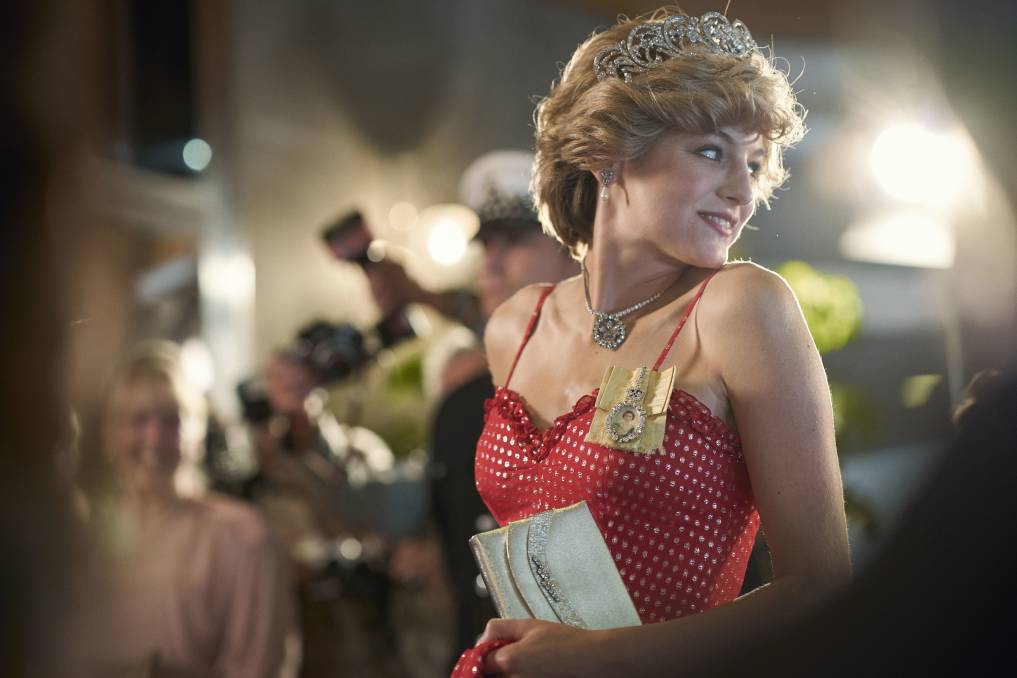 PEOPLE'S PRINCESS: Emma Corrin as Diana Spencer in season four of The Crown.
