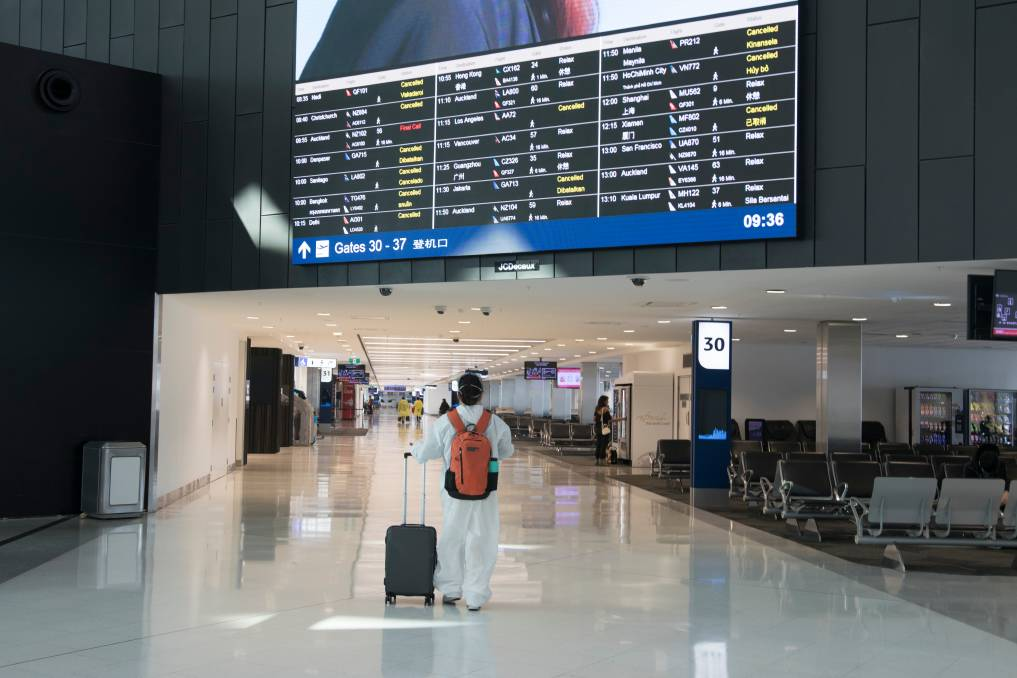 International arrivals to Australia have been halved to combat a new strain of COVID-19. Picture: Shutterstock
