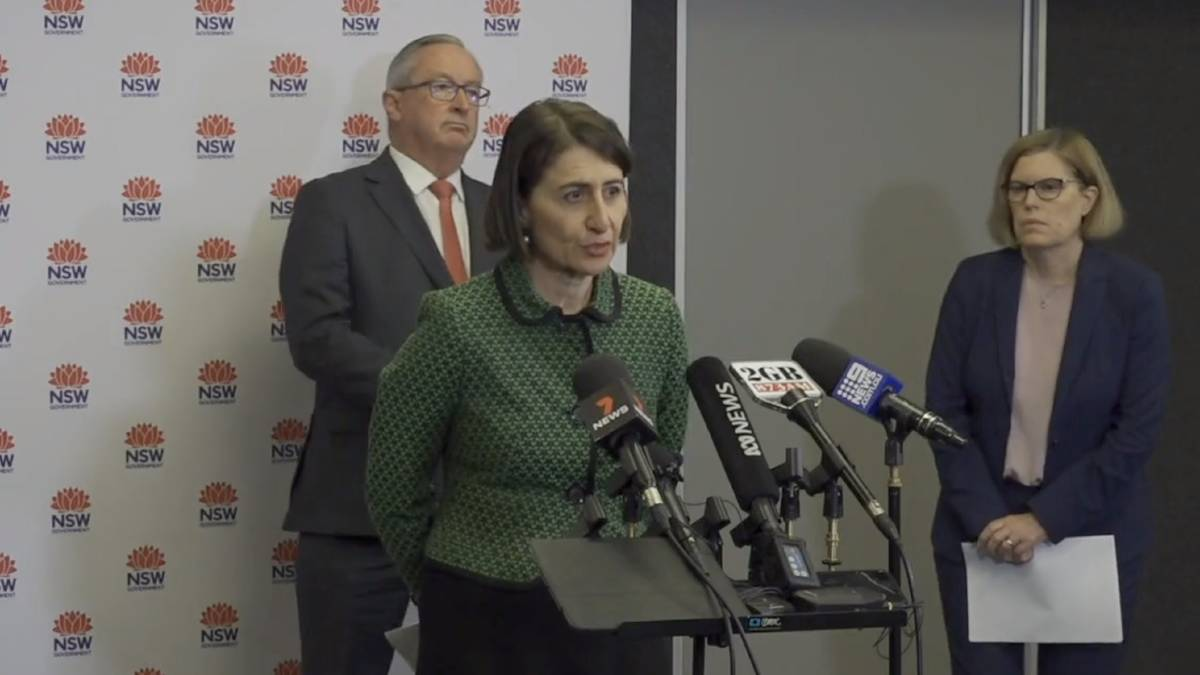 NSW Premier says up to 50 people can gather in homes with outdoor areas