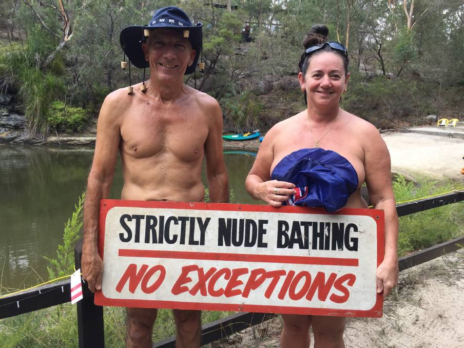 Australian nudist camp