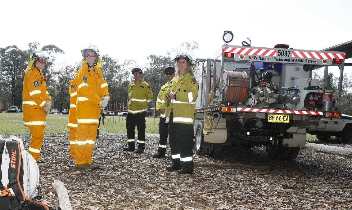 Girls blaze ahead in firefighting training with National ...