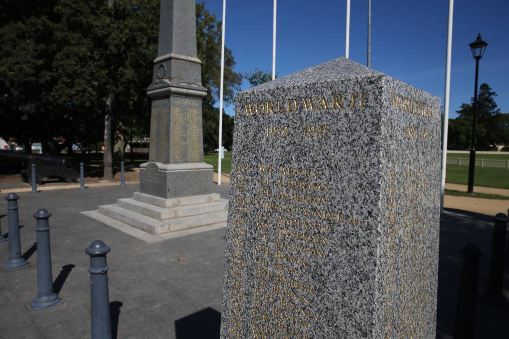 Paying respects: ANZAC Day 2021 will go ahead at Richmond War Memorial on Sunday, April 25. Picture: Geoff Jones