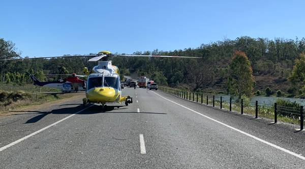 TRAGIC: Two children died after a car rolled into Wyaralong Dam yesterday. Photo: Supplied