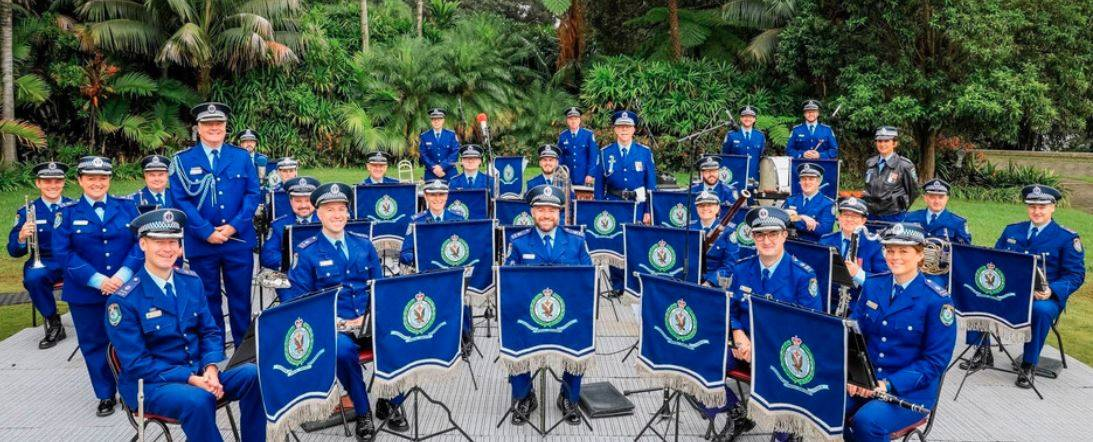 The NSW Police band.