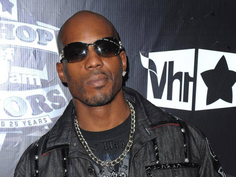 American rapper DMX, 50, remains on life support in hospital following a heart attack.