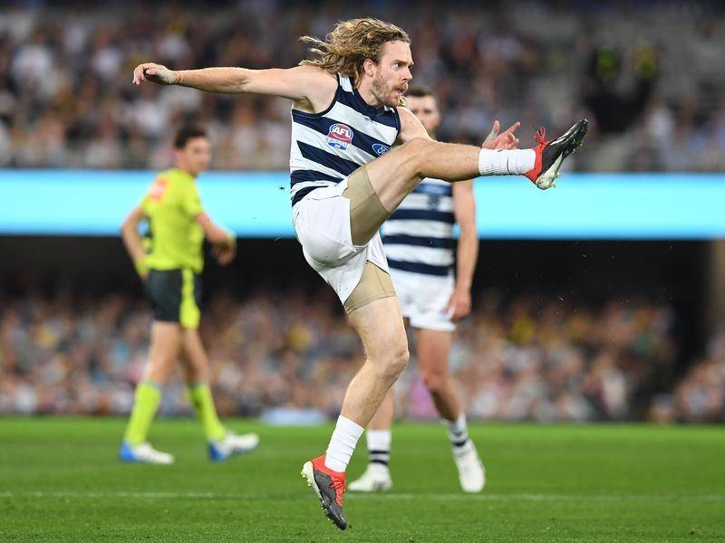 Cameron Guthrie has capped off a stellar year by winning the Cats' best and fairest award.